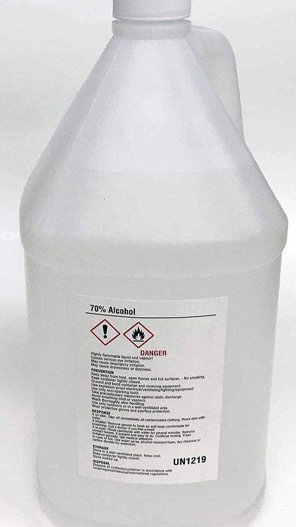 Alcohol ISOPROPYL  70% 3.8L (1 Gallon size) PPE
