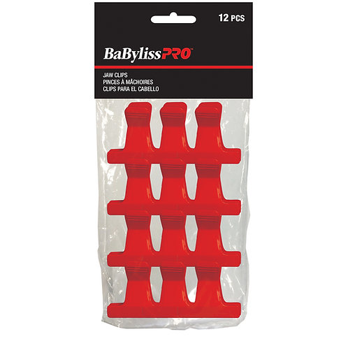 Babyliss Pro Jaw Clip Red