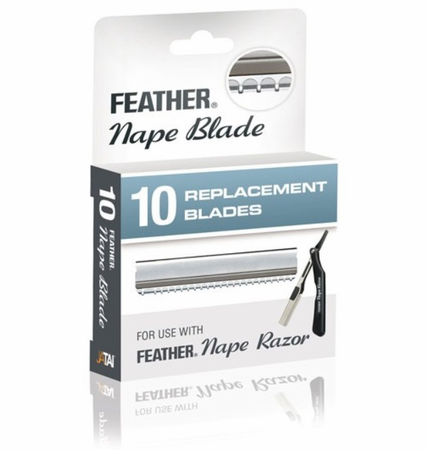 Feather Nape 10 Replacement Blades