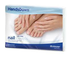 Hands Down Nail Towels 42910C