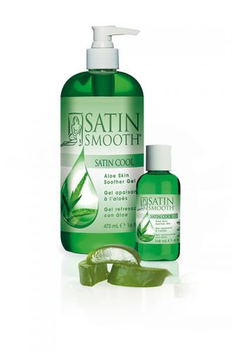 Satin Smooth Satin Cool Aloe Vera Skin Soother  Sizes 4oz - 16oz