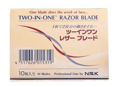 2 in 1 Razor Blades