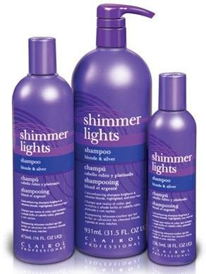 Clairol Shimmer Lights Conditioning Blue Shampoo 3 Sizes Available