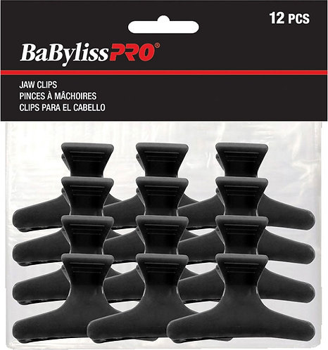 Babyliss Pro Black Jaw Clips