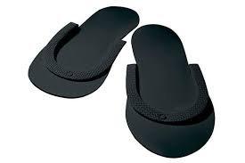 Eco Friendly Pedicure Slippers SLCOMFYBKC