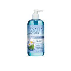 Satin Smooth Satin Cleanser Skin Preparation Cleanser sizes 4oz - 16oz