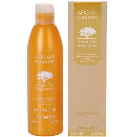 ARGAN SUBLIME Shampoo Sizes 250-1000ml