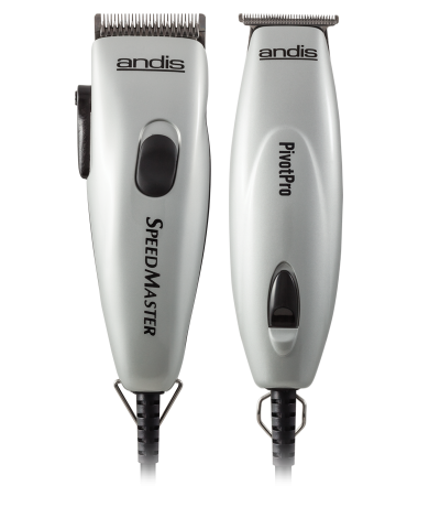Andis Pivot Motor Combo - Adjustable Blade Hair Clipper and Hair Trimmer