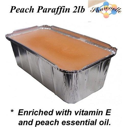 Sharonelle Peach Paraffin Wax  2 lb