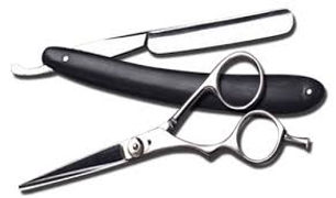 Hair Scissors and Razors sold at Carpi Beauty Supplies