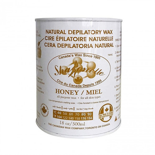 Sharonelle Natural Honey Soft Wax - 18 oz
