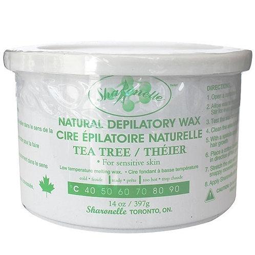 Sharonelle Tea Tree Oil Depilatory Wax 14oz