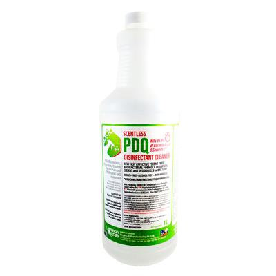 PDQ DISINFECTANT CLEANER Unscented 1 Liter size PPE