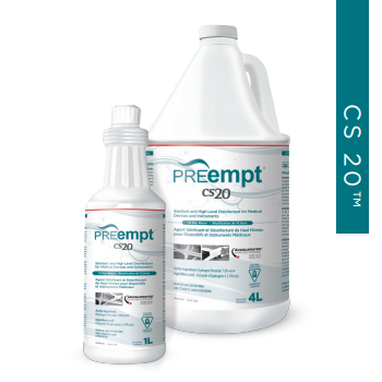 PREempt™ CS20 Sizes 1 liter and 3.8 L (1 Gallon) PPE