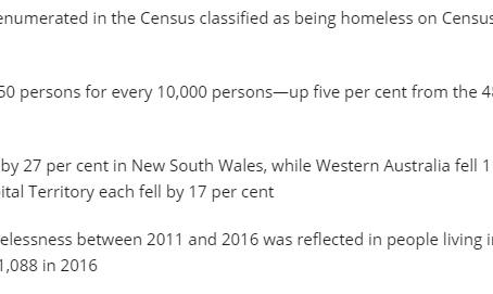 Health & Wellbeing: Homelessness and Poverty