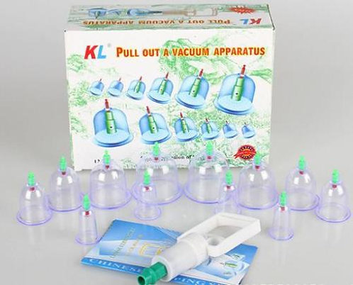Trigger 12pc CuppingSet