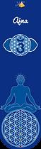 3E TROISIÈME OEIL chakras Marques-pages livre - Carré plastifié Fleur de vie Métatron géométrie sacrée planches modèles cadres soins énergétiques minéraux pendule lithothérapie naturopathie gemmothérapie 7 chakras alignement pierre recharger cristaux nettoyer purifier purification énergies Méditation vibration bien-être radionique radiesthésie stickers poster autocollant dessin set de table bienfaits égypte produits énergétiques divination divinatoire cadran animaux 7 chakras alignement décoration