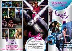Dépliant A4 3 volets - Orchestre French Touch - Extérieur