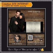 Création Site Web et carte de visite