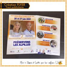 Création Flyer / Tract publicitaire