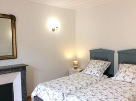 Chambre avec cheminée