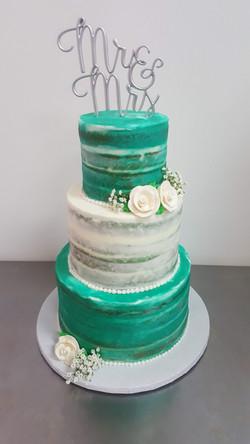 Sweet Teal Wedding