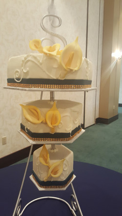 Hanging Buttercream and Bling