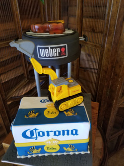 Groom's Cake Grill