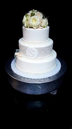 Sugar Wedding Cake