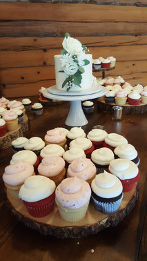 Cupcakes for the Bride