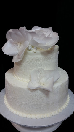 Edible Lace and Flowers
