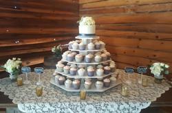Cupcake Wedding Tower