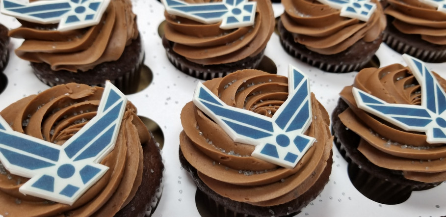 Military Cupcakes