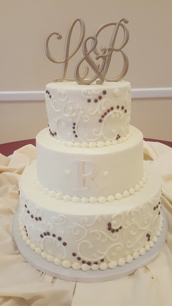 Buttercream Hand Piped