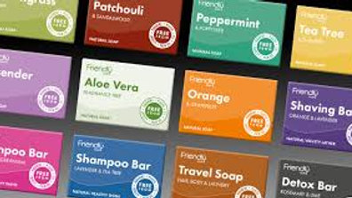 Friendly Soap and Shampoo Bars