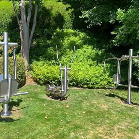 Fitness en plein air: Durabilité = 100% acier inoxydable