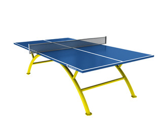 Ping Pong Table - Blue I