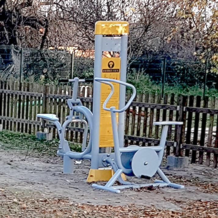 Vélo Fitness en Plein Air