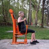 arm press fitness musculation piston exterieur