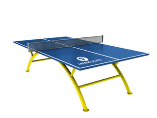 Ping Pong Table - Blue II