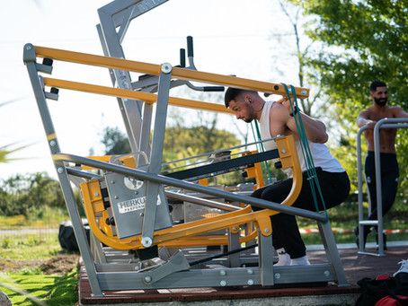 California Gym - La première salle de musculation extérieure de France !