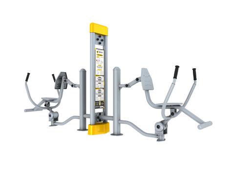 Arm Press Fitness en Plein Air