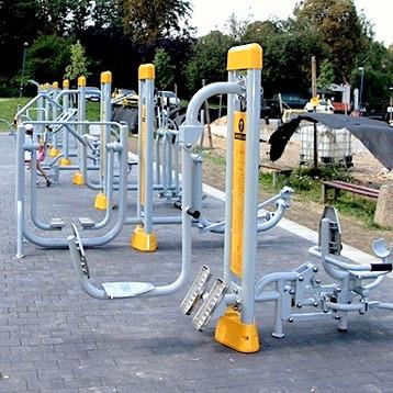 Leg Press Fitness Plein Air