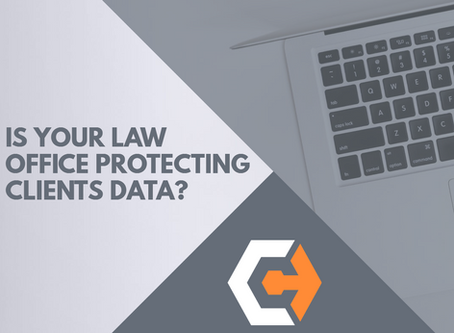 5 Things Every Law Office Should Be Doing To Protect Client Data.