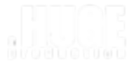 A huge production logo Transparent WHITE