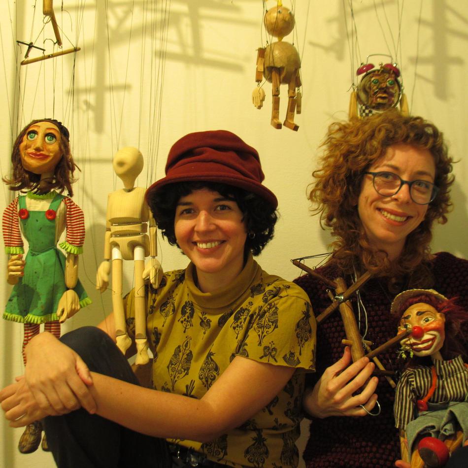 Entrevista com as artistas Júlia Barnabé e Rocio Walls