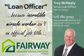 Troy McNeely Loan Officer