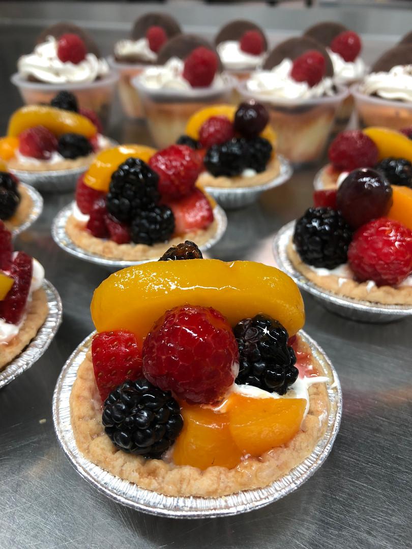 sopas kitchen fruit tarts