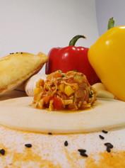 Sopas Kitchen Chicken Empanada