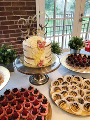 Sopas Kitchen Catering wedding cake
